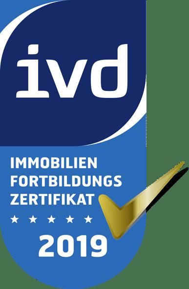 Fortbildungssiegel 2019 des IVD