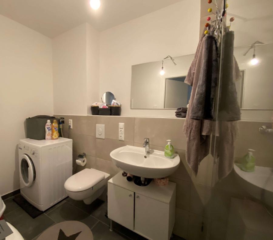 Schöne 1-Zimmer-Neubauwohnung in Lohbrügge zu mieten - Badezimmer