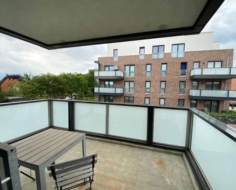 Schöne 1-Zimmer-Neubauwohnung in Lohbrügge zu mieten - Balkon