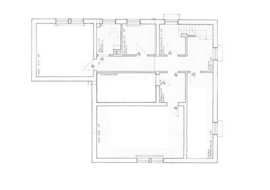 Flachdach-Bungalow auf ca. 710 m² sonnigem Grundstück zu kaufen - Keller