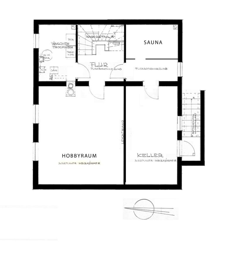 Sehr gepflegtes Einfamilienhaus in Poppenbüttel zum Kauf - Keller - nicht verbindlich