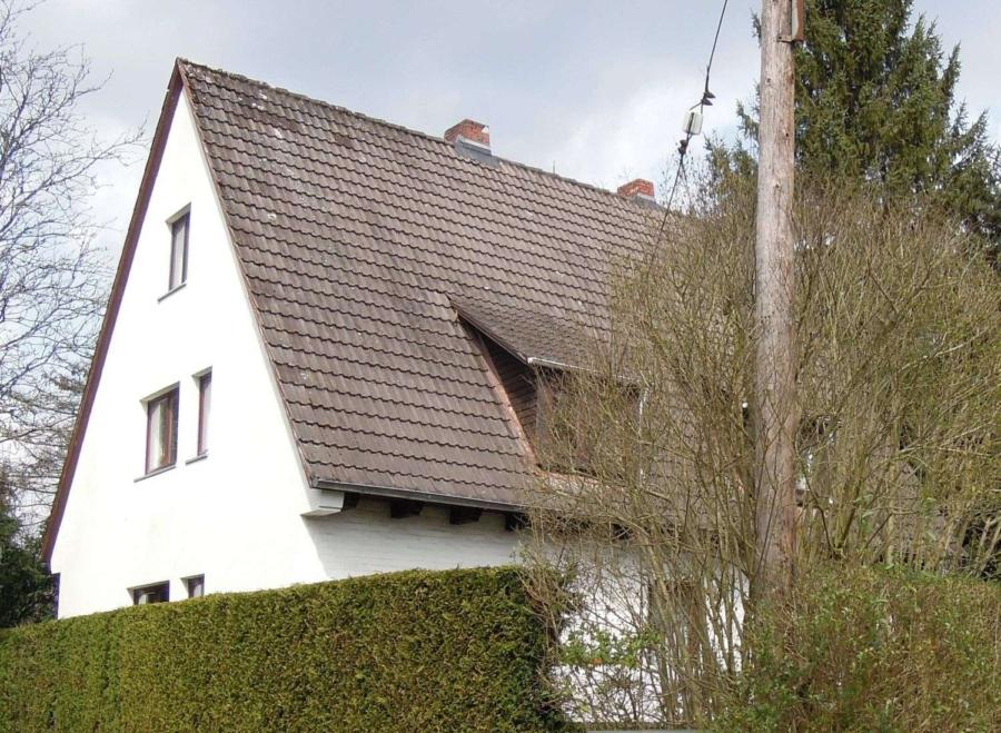 Zweifamilienhaus in ruhiger Lage von Wellingsbüttel - Hausansicht