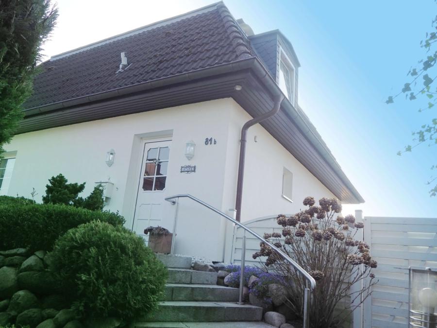 Sehr gepflegtes Einfamilienhaus in Poppenbüttel zum Kauf - Haus Eingangsbereich