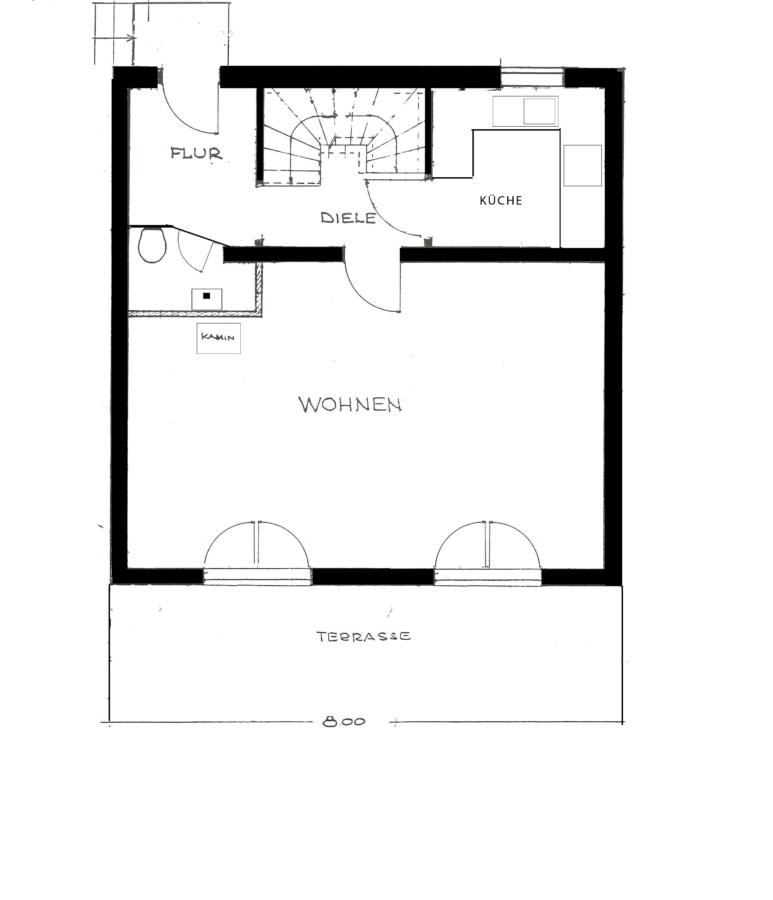 Sehr gepflegtes Einfamilienhaus in Poppenbüttel zum Kauf - EG - nicht verbindlich