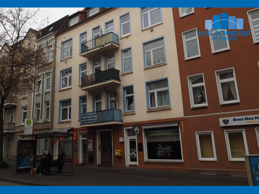 Kapitalanlage in Form eines Mehrfamilienhause, zentral in Harburg gelegen - Hausansicht