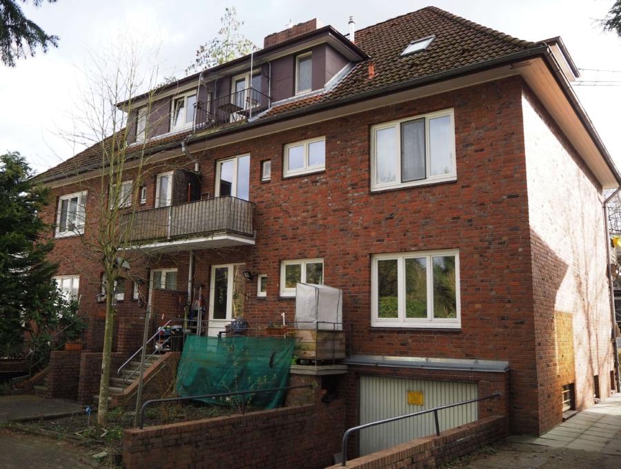 Mehrfamilienhaus mit 6 Wohnungen zur Kapitalanlage - Hinteransicht