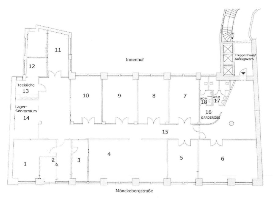 Bürofläche in bester Innenstadtlage in der Mönckebergstraße zu - 4.OG
