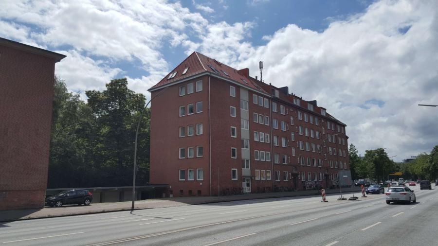 Courtagefrei - Mehrfamilienhaus in zentraler Lage von Eimsbüttel zu kaufen - Hausansicht