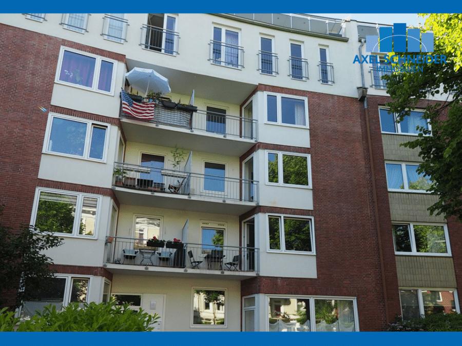 Freie 2 1/2-Zimmer-Wohnung am Eppendorfer Weg beim Generalsviertel - Eppendorfer Weg 155