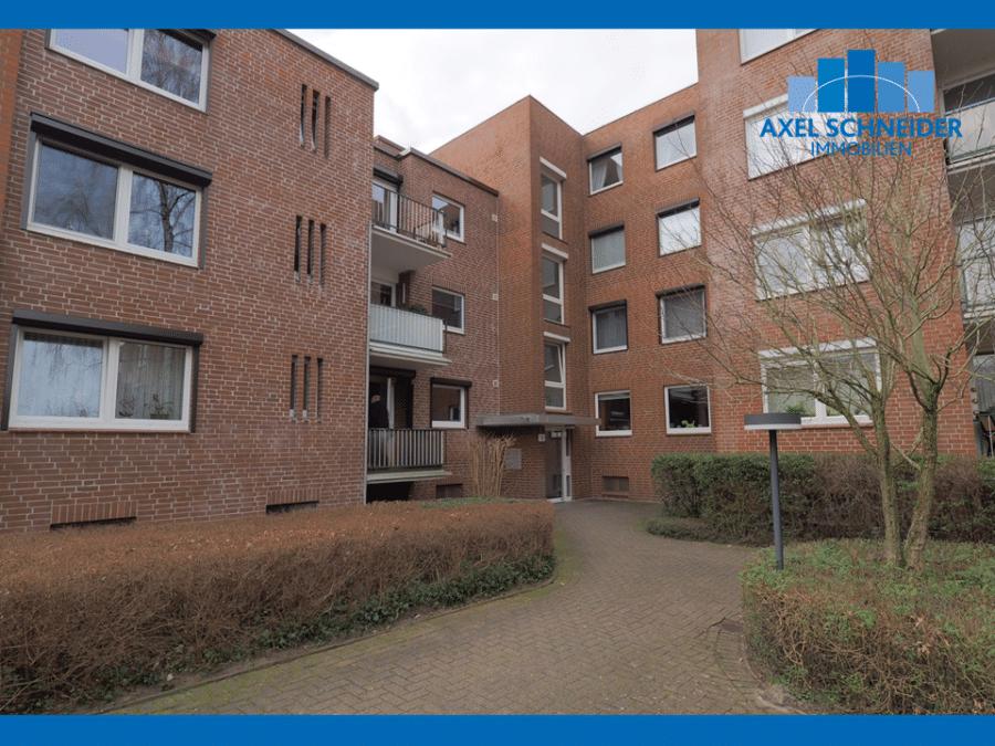 Ruhig, zentral gelegene 2 1/2-Zimmer-ETW inkl. Tiefgaragenstellplatz in Hummelsbüttel - Hauwisch 11