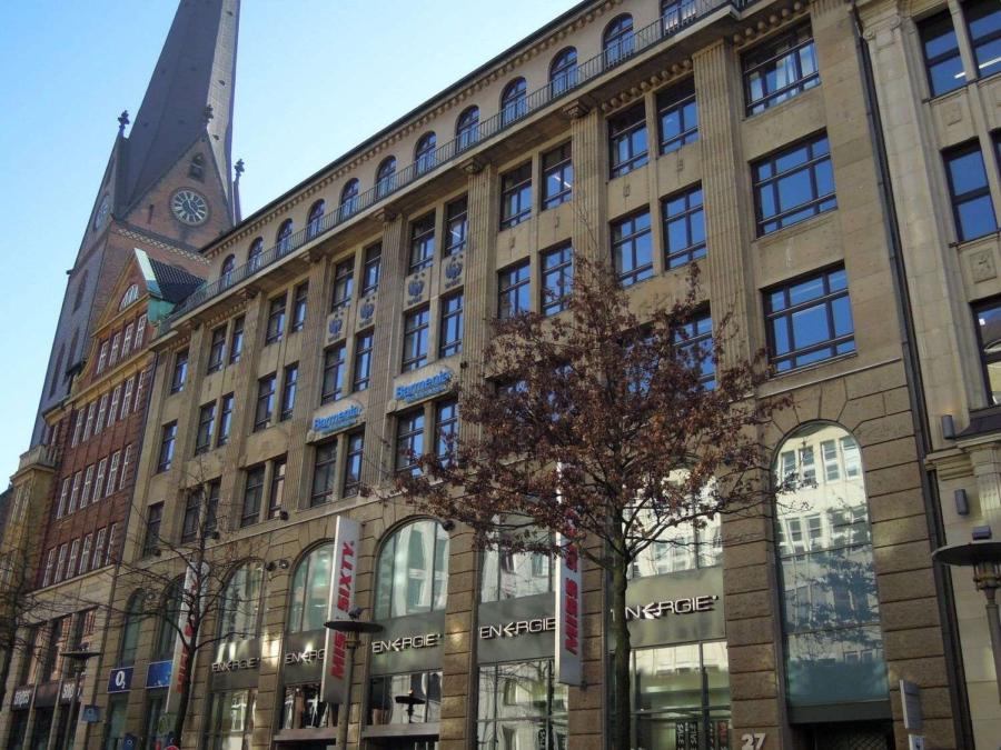 Bürofläche in bester Innenstadtlage in der Mönckebergstraße zu - Mönckebergstraße 27